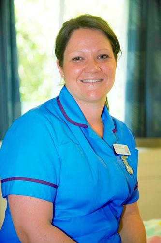 Emma Veitch, paediatric staff nurse