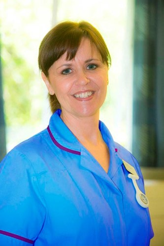 Jill Adams, paediatric staff nurse