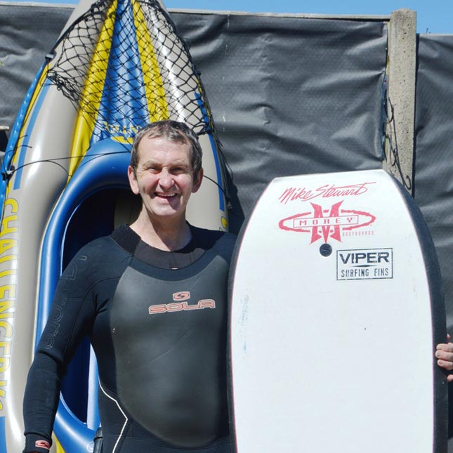 Life-saving prostate cancer surgery for surfer