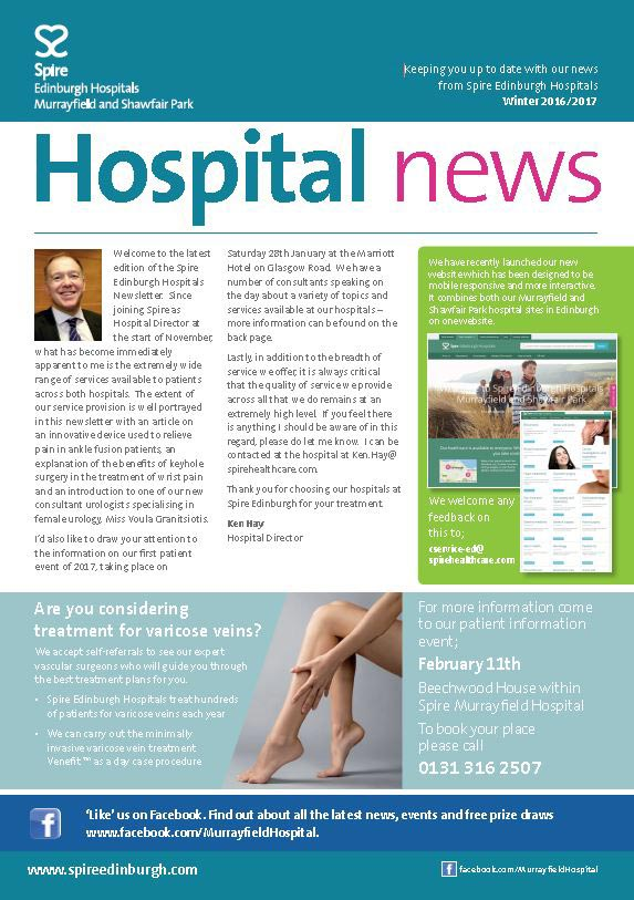 Winter Hospital Newsletter
