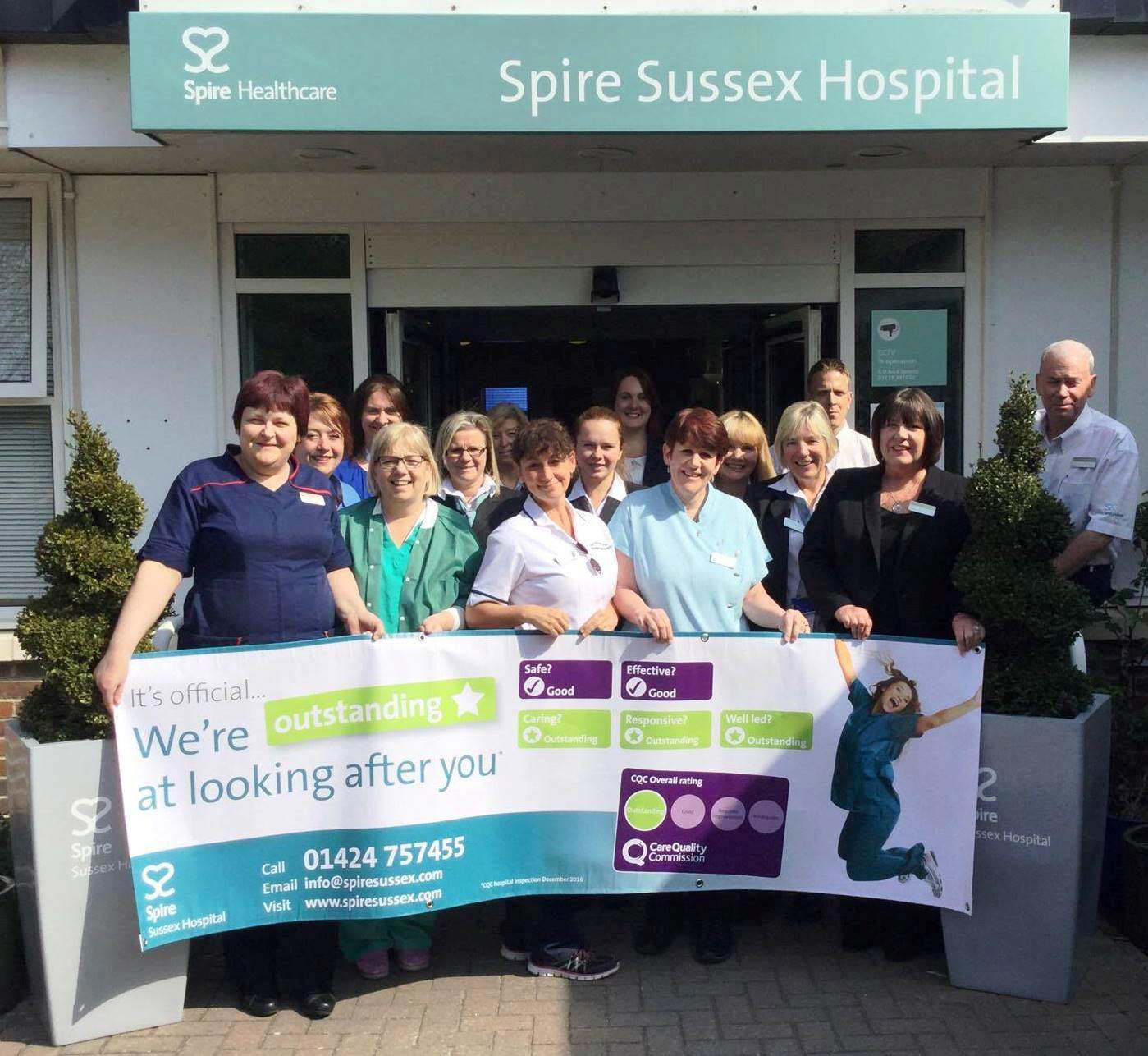 CQC rate Spire Sussex Hospital as 'Outstanding'