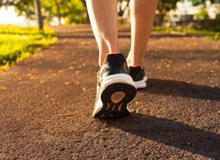 Taking steps to improve your health