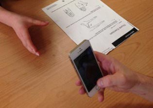 Physiotherapist, Laura Edwards, develops hand therapy app