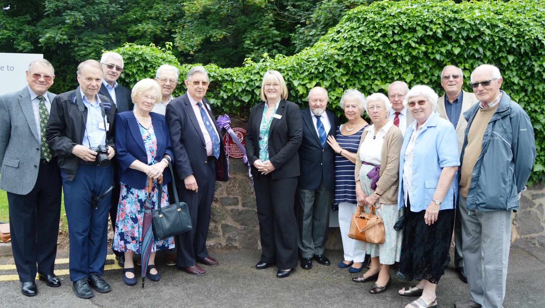 Elgar plaque unveiled