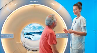 MRI scanning at South Bank