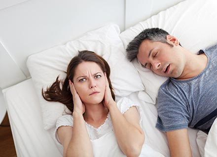 Dear doctor, my husband's snoring is driving me insane! Can anything be done?