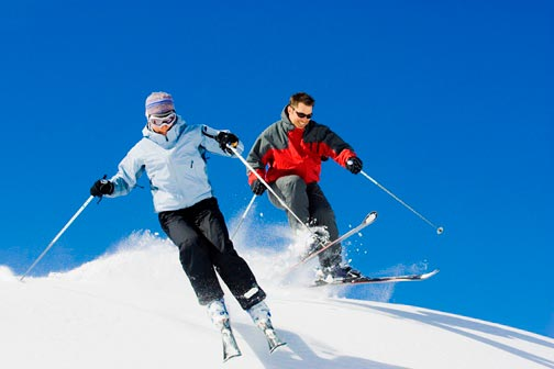 Get ready for the ski season - how to avoid knee injuries