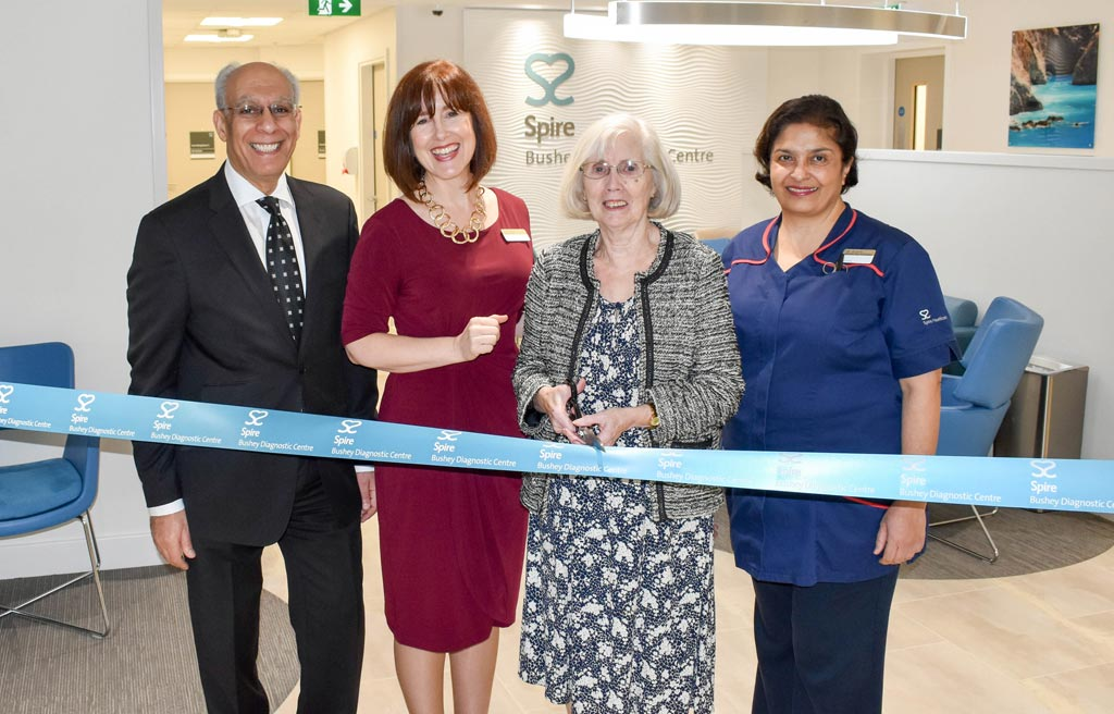 We've expanded our out patient services with a new state of the art clinic in Elstree