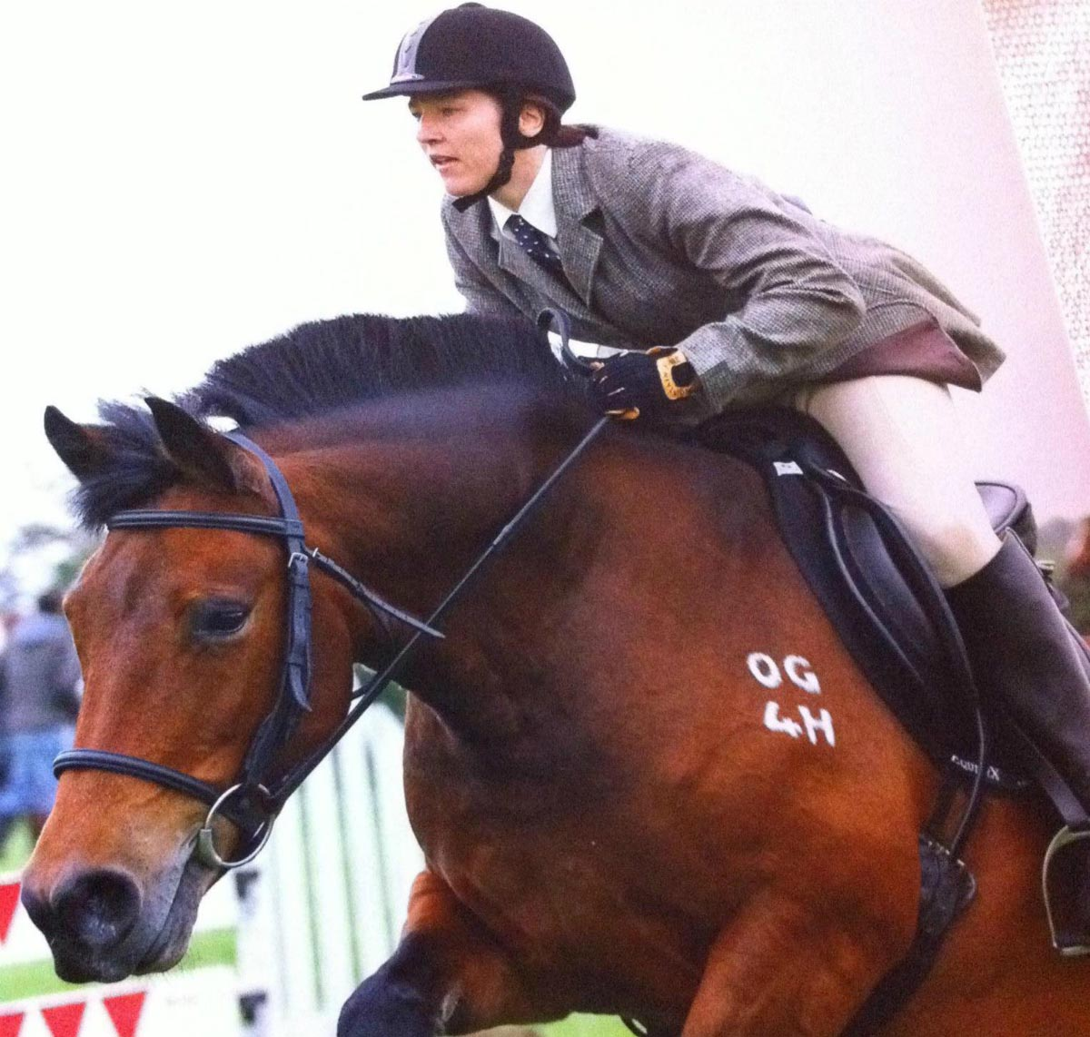 Tracey riding high after spine surgery success