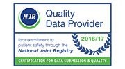 National Joint Registry Award Logo