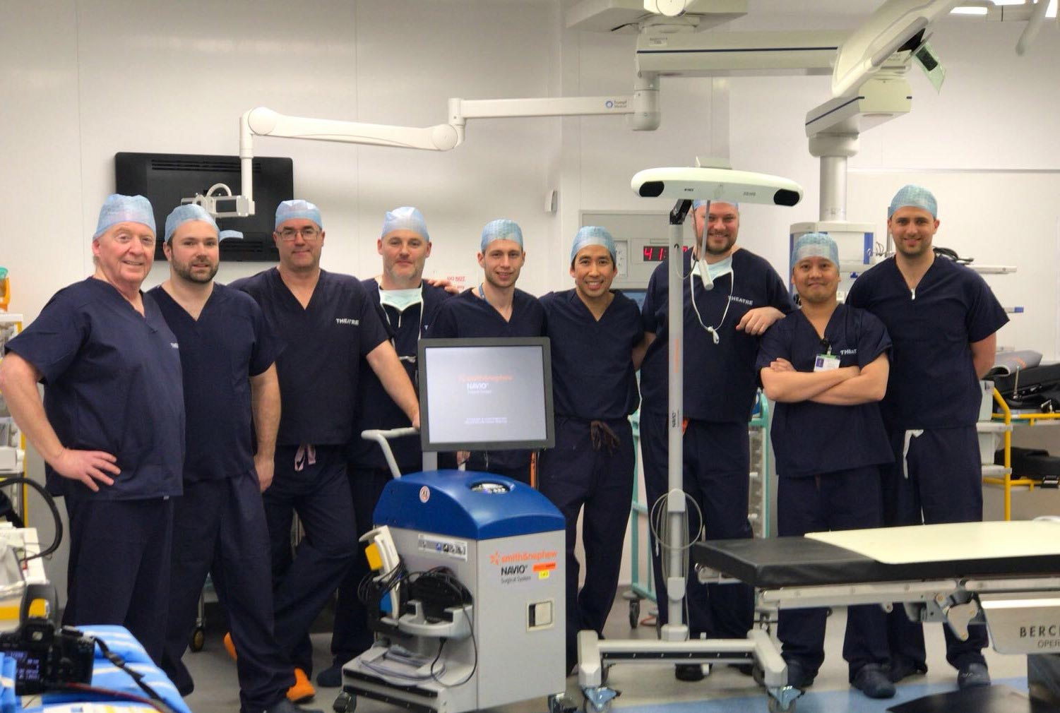 Hospital is first in North with robotic assisted knee replacement