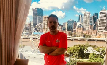 Physiotherapy Manager shares his stories from the 2018 Commonwealth Games