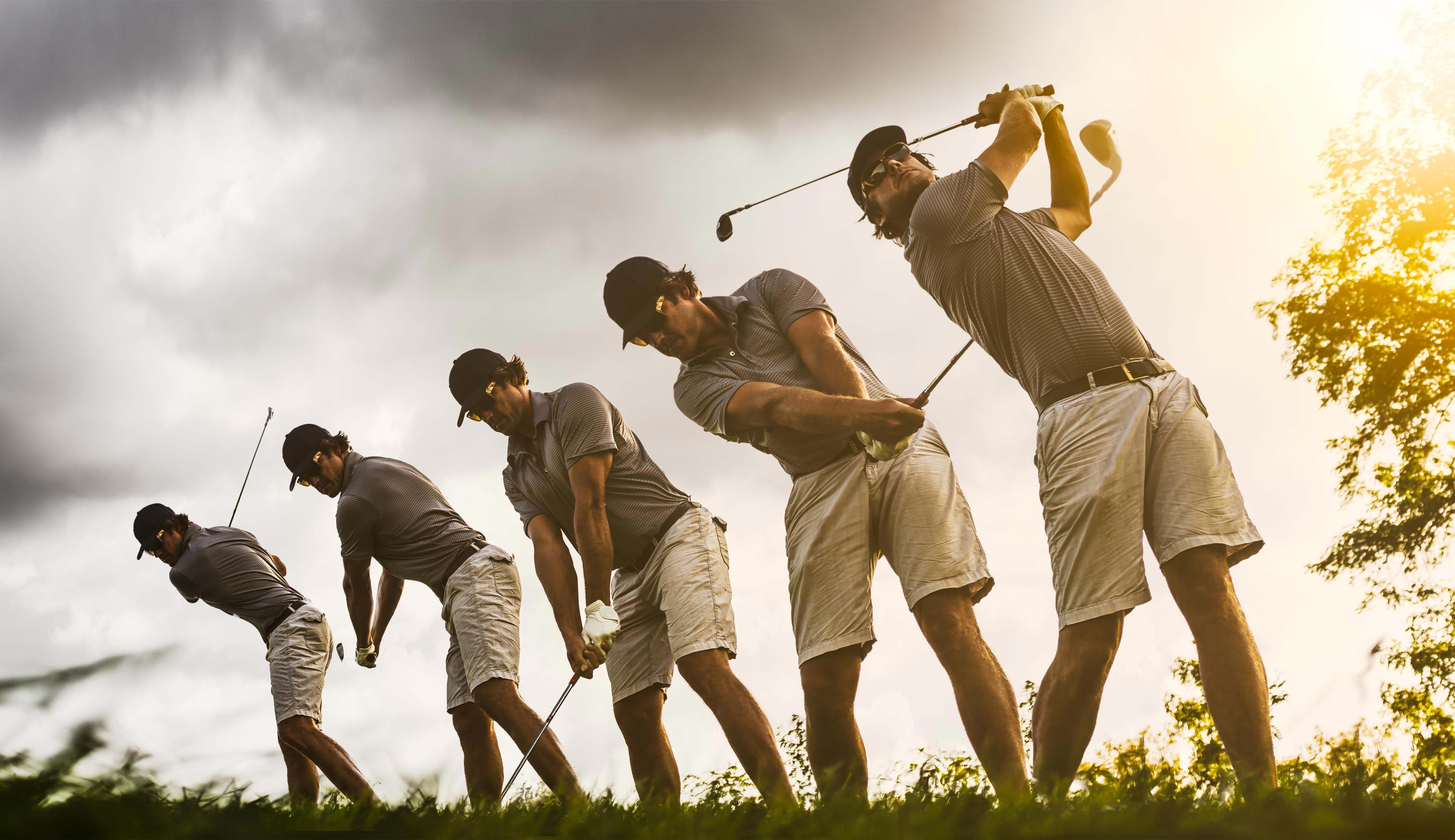Upper limb injuries in golfers