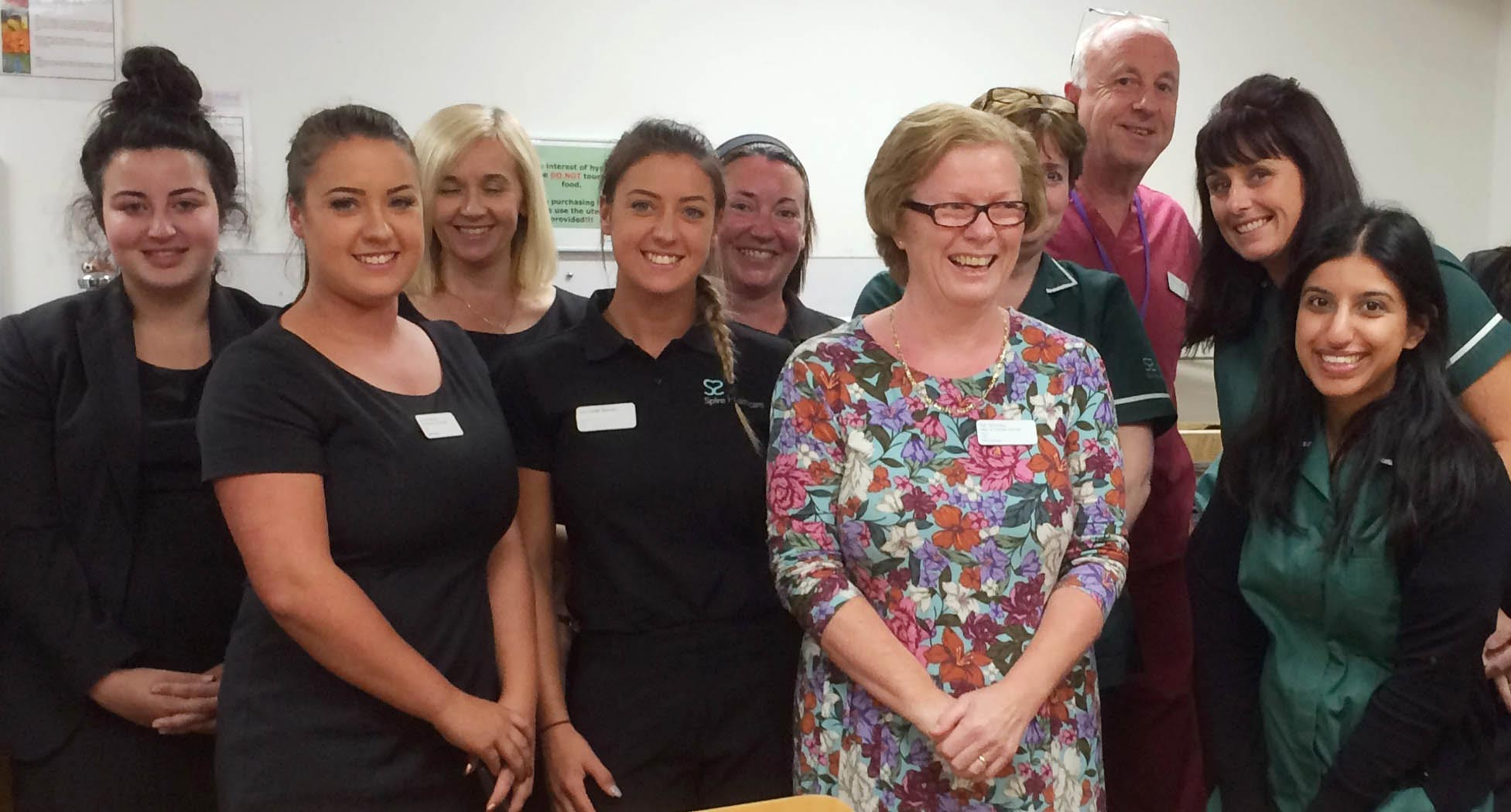 Pat says thirty years of nursing has been a privilege
