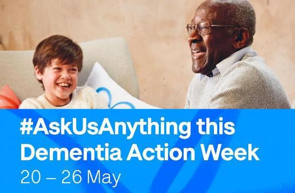 We're supporting Dementia Action Week 2019