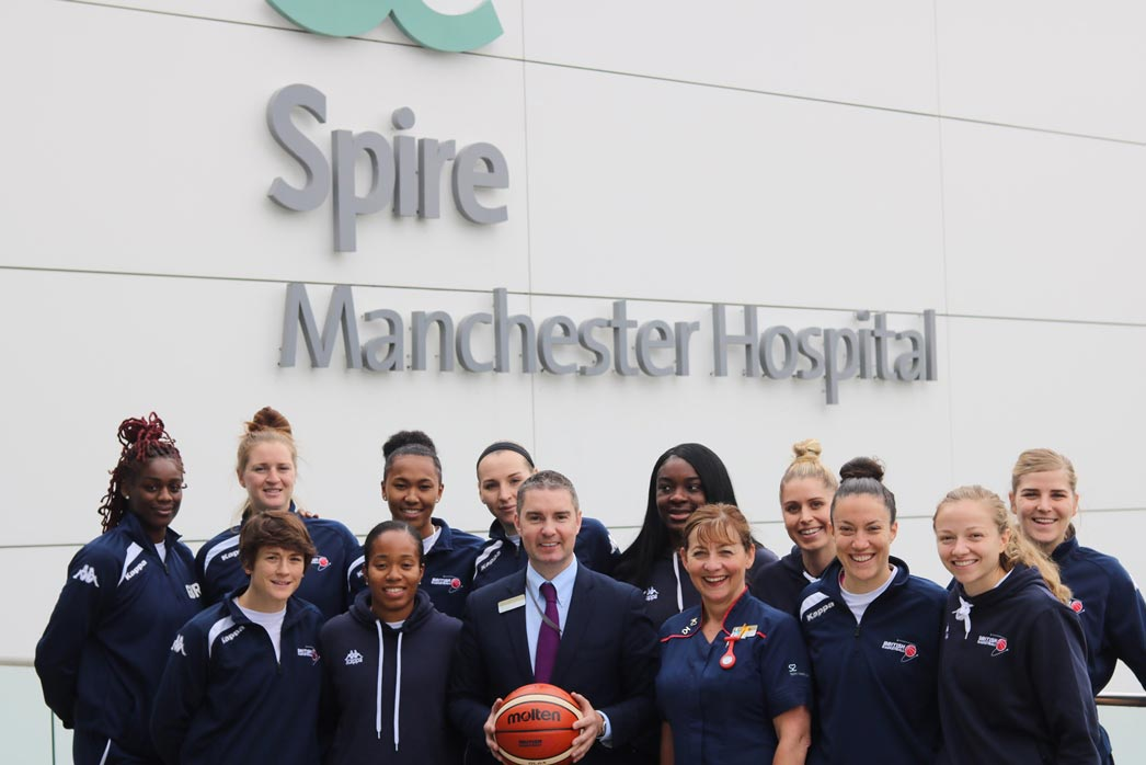 Official Healthcare Partner to GB Basketball
