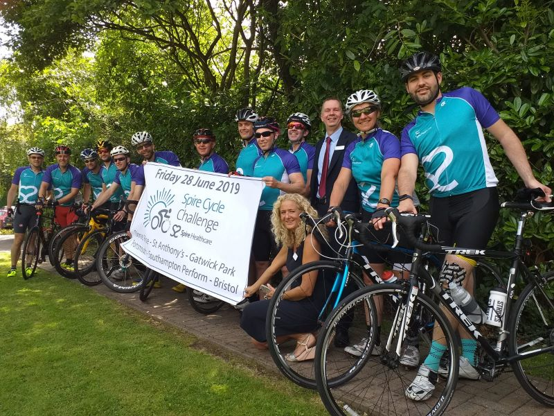 Spire to Spire Charity Cycle 2019