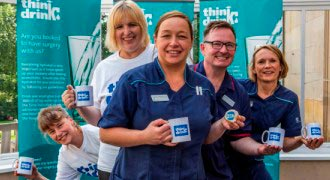 Spire Leeds Hospital launches 'Think Drink' campaign helping patients recover faster from surgery