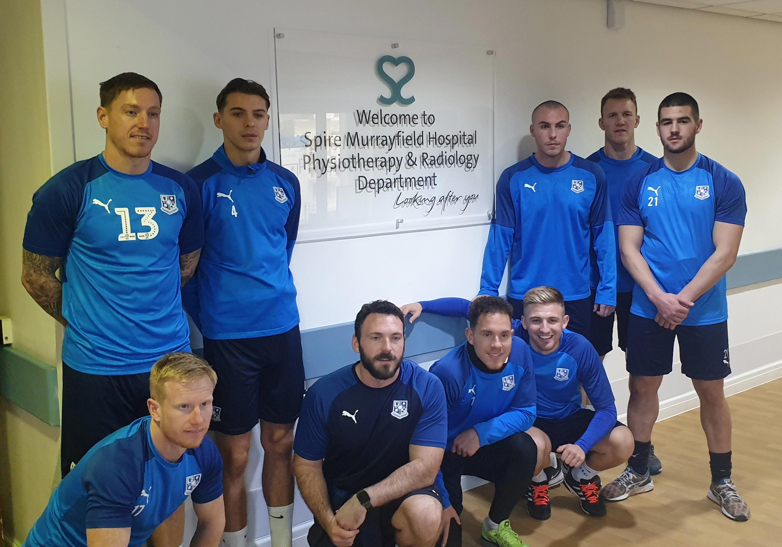 Spire Murrayfield Hospital, Wirral is now the official medical partner of Tranmere Rovers Football Club