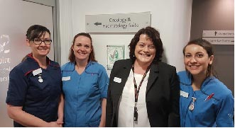 South Bank Hospital awarded the Macmillan Quality Environment Mark (MQEM)