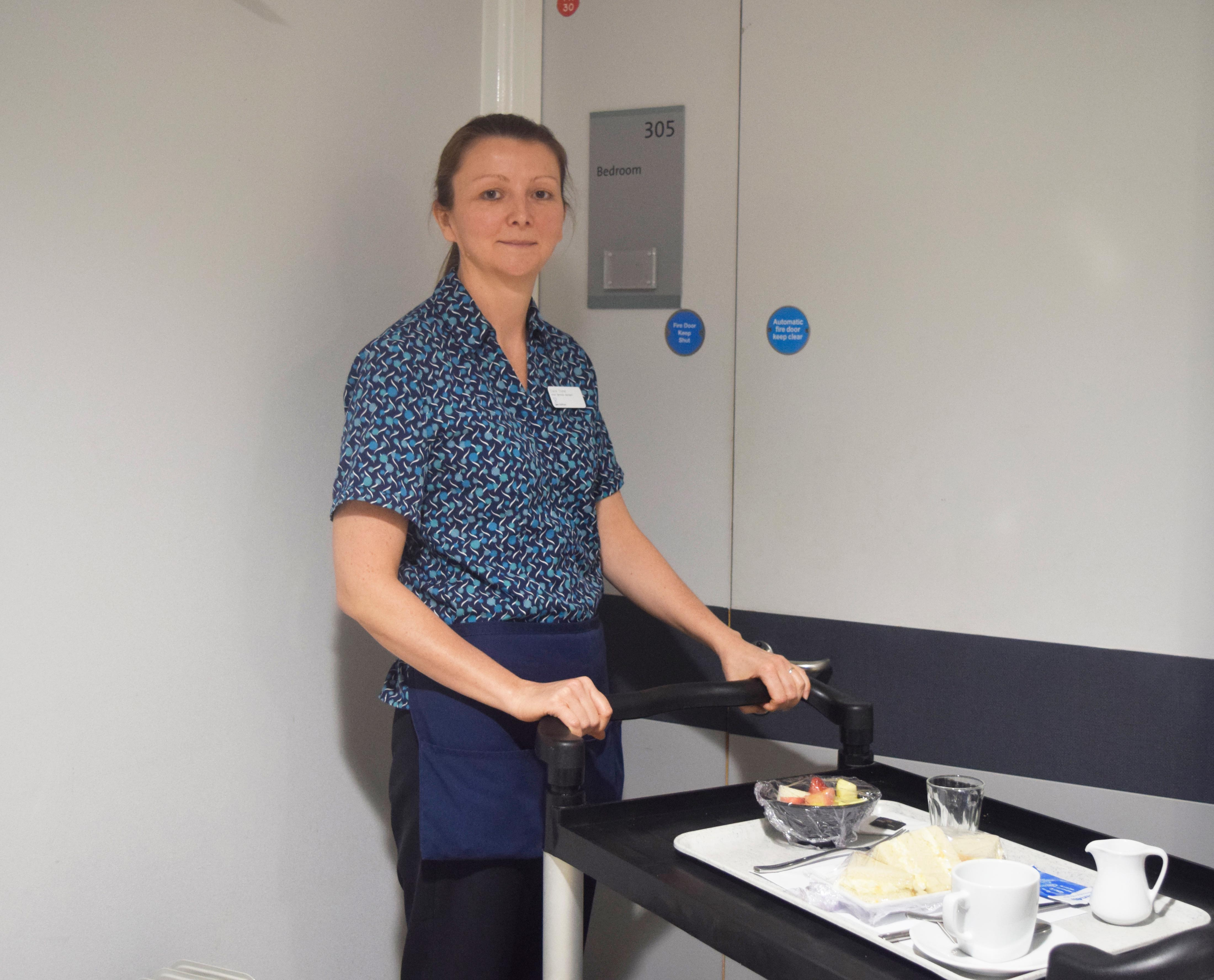 A day in the life of a Hotel Services Assistant at Spire Bristol Hospital