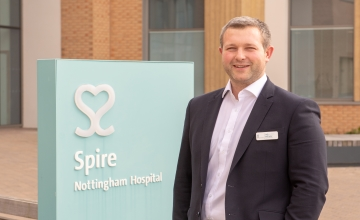 New Hospital Director has been appointed at Spire Nottingham Hospital