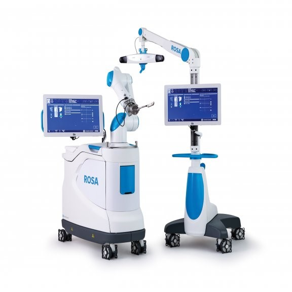 ROSA robotic knee surgery system