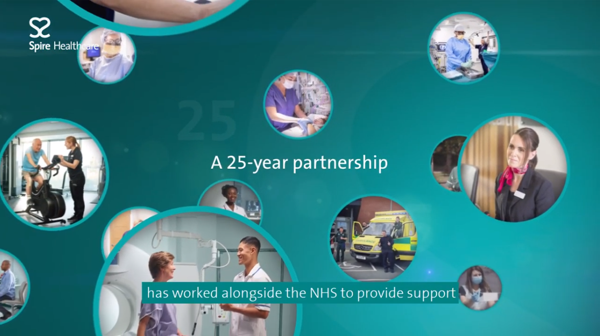 Spire Healthcare - proud to support the NHS