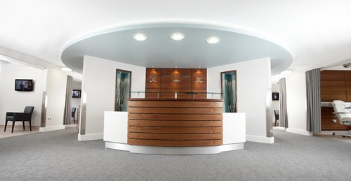 Spire Southampton Hospital Chalybeate Suite Reception Desk
