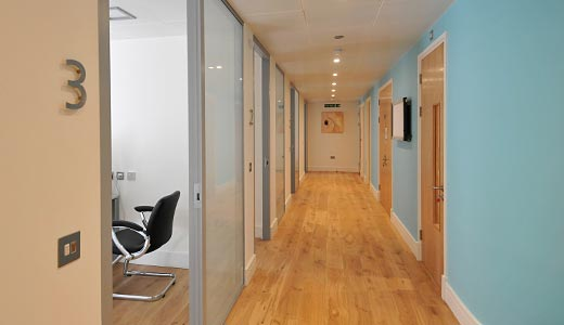 Consulting rooms at Spire Windsor Clinic